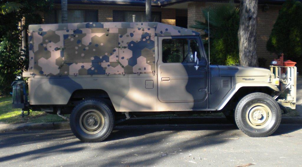 Army camouflage truck canopy